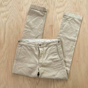 RRL Double RL Ralph Lauren Military Field Cloth Utility Pant Chino Khaki 30 x 32